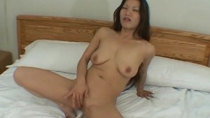 Cute girl plays with his cock