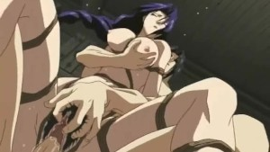 Sexy hentai girl is drilled in every hole