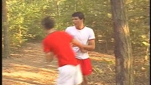 Gay fucking in the woods