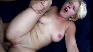 Nasty blonde sucks and fucks enthusiastically - Future Works