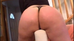 Mature amateur wife toying her ass and pussy with sextoys