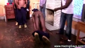 College black students humiliated for iniation