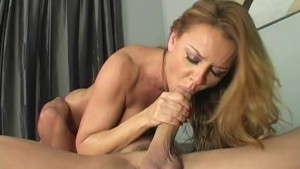 Janet Mason Loves Sucking Cock and Licking Ass