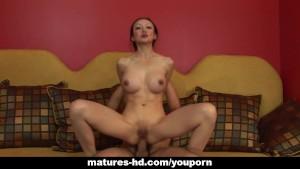 Asian slut Angie Venus fucked by huge cock