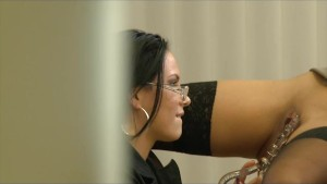 Peeping Lesbians in the Office