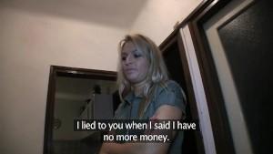 PublicAgent Sophia Fucks me for Money