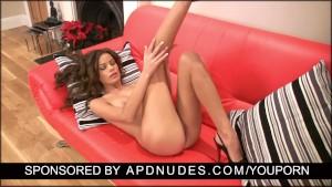 Annabella Rox in a hot masturbation scene