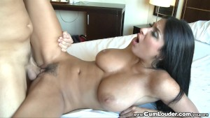 Hot Anissa Kate shows off her amazing Tits and gets fucked