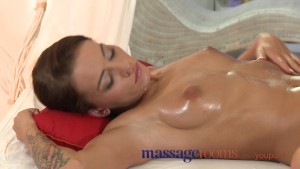 Massage Rooms Fit young babe given full treatment