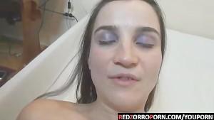 RedZorroPorn Eva the sex-maniac girl who loves ball-licking