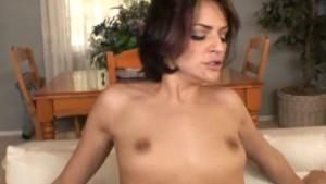 Petite babe gets her delicious ass fucked- DNA