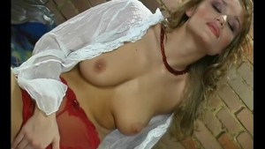 Cute Little Tease With Red Panties - Pleasure Photorama