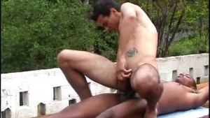 Martial art training turned into ass fucking - The French Connection