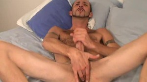 Tony Americus Stroking His Long Hard Dick - Slippery Palm Productions