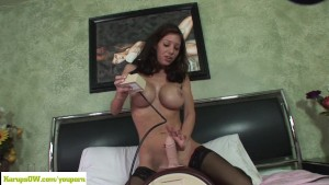 Angel Little Rides Sybian