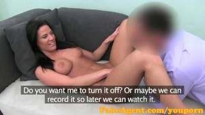 FakeAgent I love eating fresh young pussy then giving her a creampie