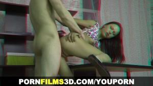 Porn Films 3D - Assfucking better than tutoring