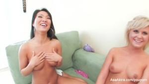 Asa Akira Teaches Kelly How To Be Naughty