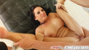 Milf Thing domina mature with big tits fucks hard