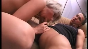 Blonde Whore Sucks Load Out Of Hubby's Cock - Telsev