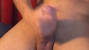 Next door guy gets wanked his big dick by a guy !