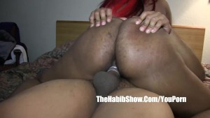 her pussy so nice n hairy luvs BBC fucked hard p2