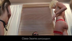 Kiara Lord and Sandra Luberc satisfy horny hardon