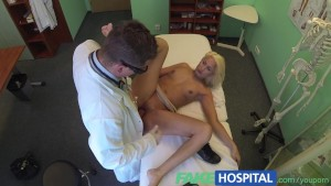 Fake Hospital Doctors recommendation has sexy blonde paying the price