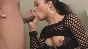 Latina riding BBC - Candy Shop