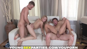 Young Sex Parties - Amazing sex party doubles