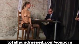 Sexy secretary and kinky HR people