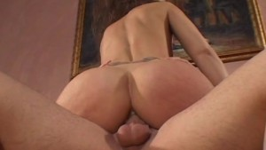 Cougar Brunette Has Her Mouth Filled With Cum - CRITICAL X