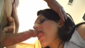 Horny Brunette Gets Creampied - CRITICAL X