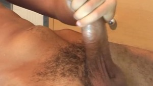 Handsome french arab guy get shaked his huge cock by us !