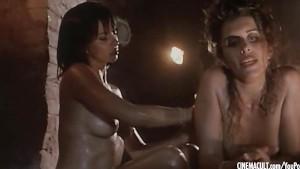 Alba Parietti nude from Il macellaio