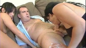 Teen learns how to suck cock