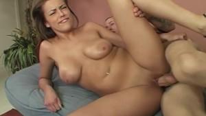Katie Cummings Titty Fucks A Big Dick