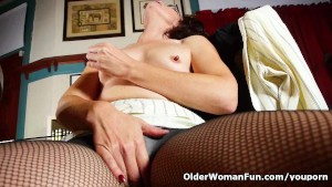 Mom needs a drink and a pussy rub