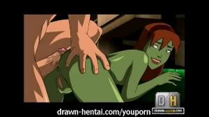 Young Justice Hentai - Superboy fucks martian ass
