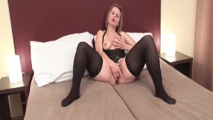 Nasty MILF gets fucked by BBC