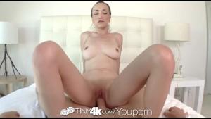 Tiny4K - Petite Victoria Rae Black gives BJ and fuck