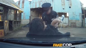 Fake Cop - Here cums the fuzz