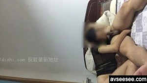 Chinese amateur riding the hard cock