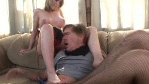 Lucky Gent With Foot Fetish Does Two!