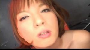 Ryo Tsujimoto sucks two shlongs and gets cum on face and neck