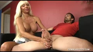 Milf Is Curious To Get To Know His Huge Cumshot