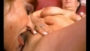 Old Lady Licking - Julia Reaves