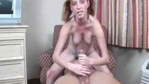 Petite Babe's Got Some Throbbing Rod And Big Balls Today