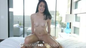 FantasyHD - Teen Kira Adams likes to show off her cute little body