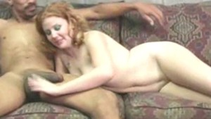 Redhead hottie Cherry Poppens loves sweet bunghole and black cock suck nasty cumshot